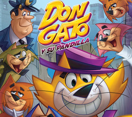 "Graphic advertising on animated film ""Don Gato"" in Spain release"