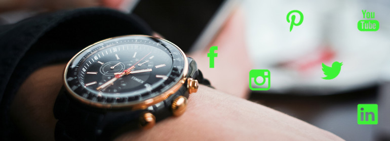 ¿Cuál es el mejor momento del día para publicar en las redes sociales? – Infografía