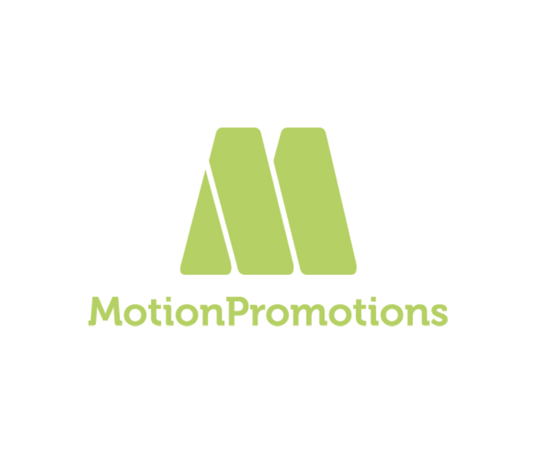 Logo Motion Promotions - web design by Limonada Estudio