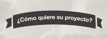 ¿Cómo quiere su proyecto?
