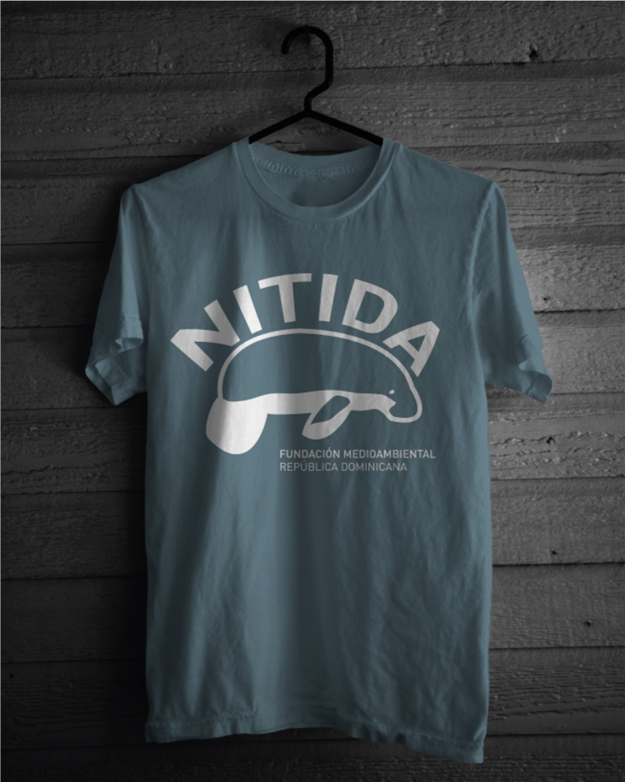 T-shirt-design-Nitida-Fundación-Medioambiental-Dominican-Republic