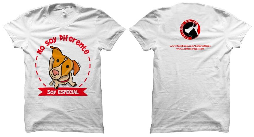 t-shirt-Panchito-Collares-Rojos-