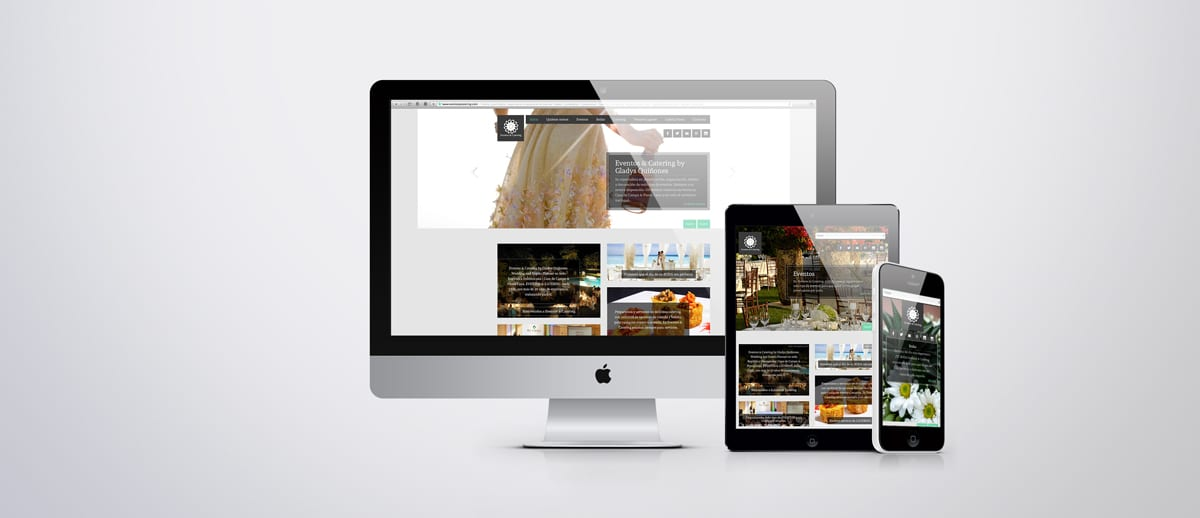 Responsive Design -web adapted to all mobile devices