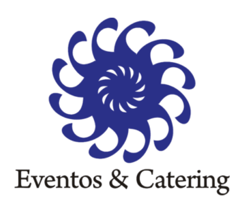redesign of logo and applications for eventos catering limonada
