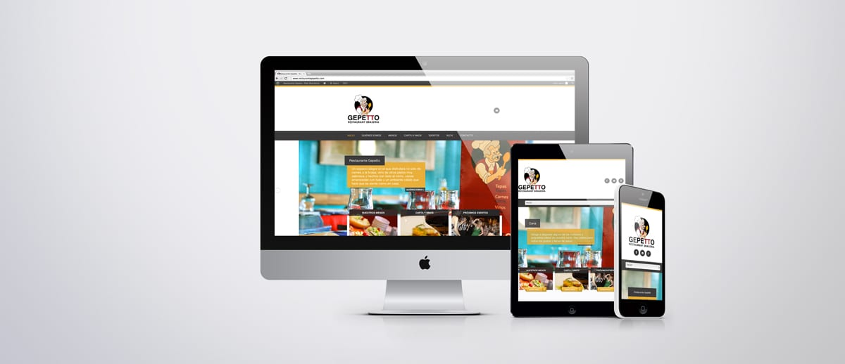 Responsive Design - website properly displayed from any mobile device