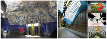 Algunas de las estaciones de metro con los diseños más impresionantes del mundo