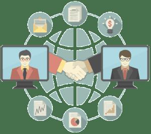 Relación Internacional de empresas mediante Internet y Redes Sociales