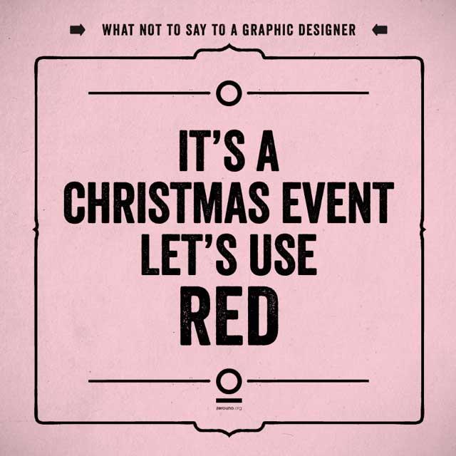 14. Es una evento de Navidad, vamos a utilizar el rojo.