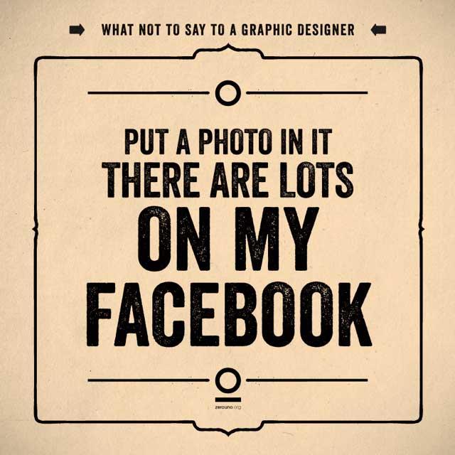 17. Pon una foto. Hay muchas en mi Facebook.