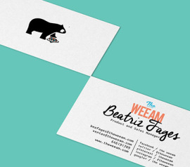 Tarjetas de visita para The Weeam