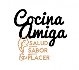 "Logo for ""Cocina Amiga"" – Blog about tasty & healthy cooking"