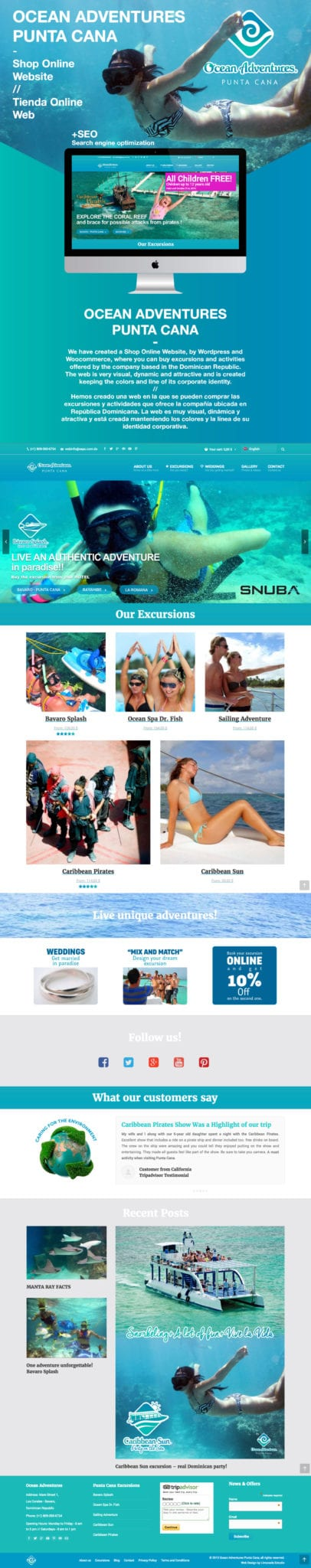 behance-web-tienda-online-ocean-adventures-punta-cana