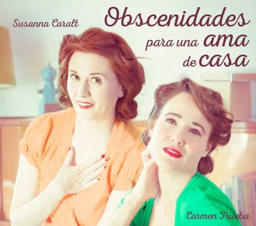 """Poster para Obra de Teatro – """"Obscenidades para una ama de casa"""""""